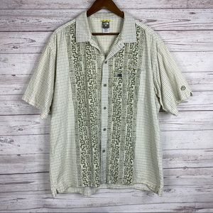 The North Face A5 button down shirt